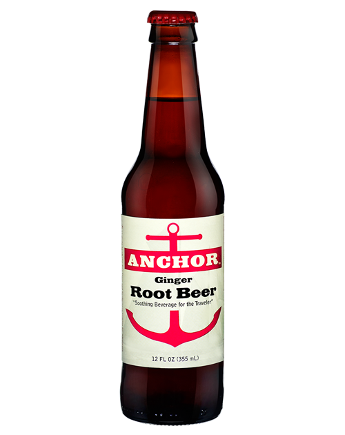 Anchor Ginger Root Beer – 12 Pack – Orca Beverage Inc